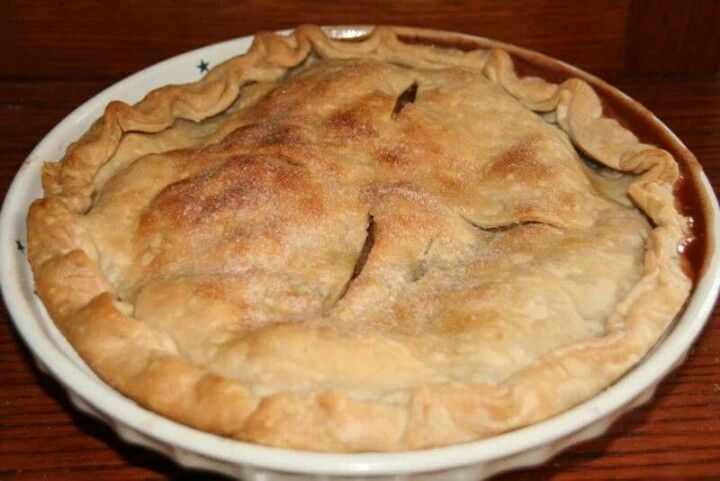 Moms apple pie | Food ideas | Pinterest