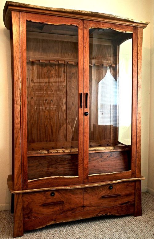 Gun cabinet for the bedroom lol dream home pinterest for Bedroom furniture gun safe