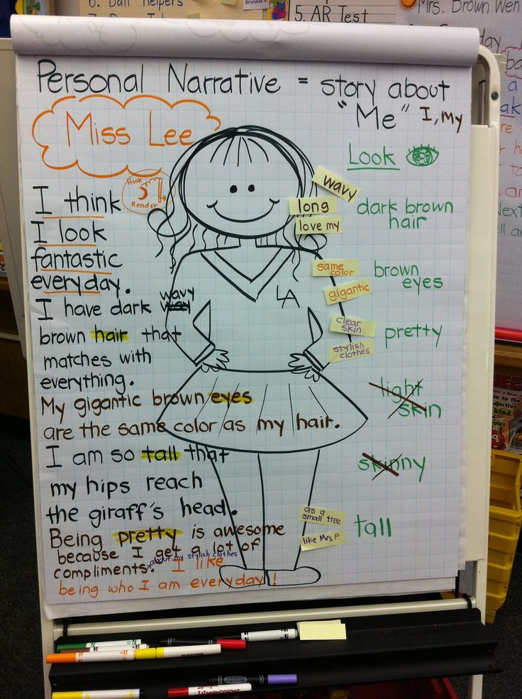 second grade personal narrative writing prompts