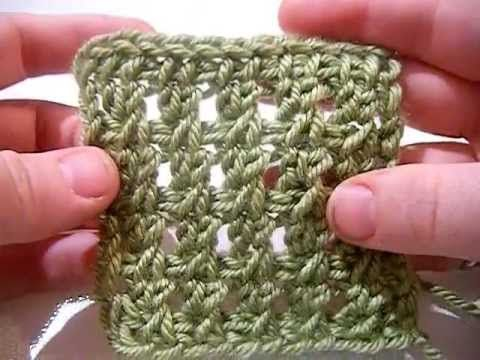 Crochet Stitches Left Handed : Knichet Left-Handed: Basket Stitch Crochet tunesino Pinterest