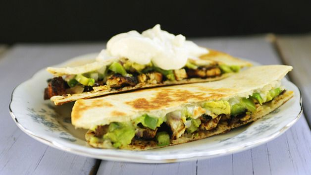 Spicy Chicken Quesadillas | Dinner Time | Pinterest