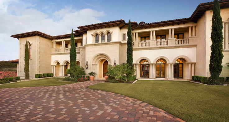 Mediterranean Mansion Design H O U S E S T Y L E S Pinterest