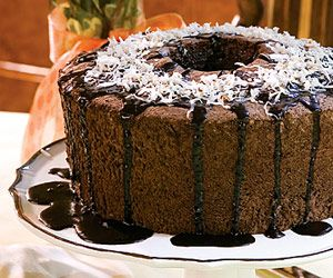 Chocolate Angel-Food Cake -Recipe from Taste of the South Try it minus ...