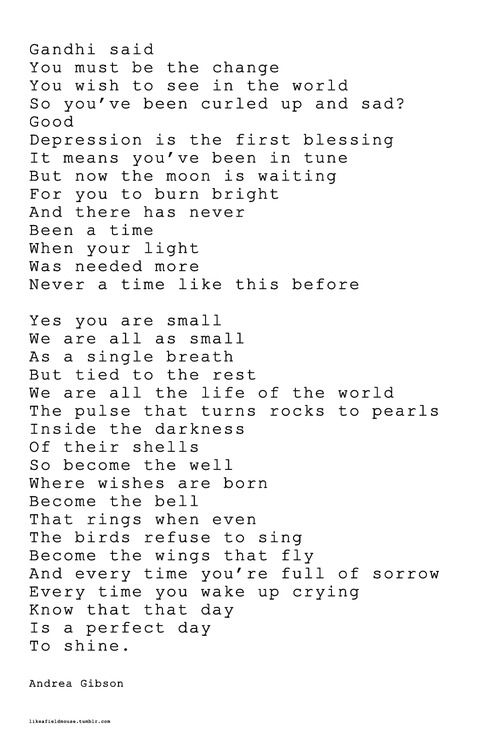 Andrea Gibson Poems Softland