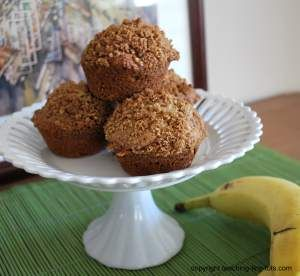 banana streusel muffins - I'm a sucker for anything with streusel...