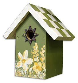 Bird house painting ideas bing images beautiful decor - Bird house painting ideas ...