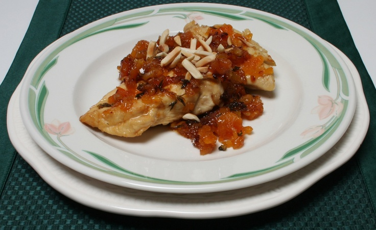 Apricot Almond Chicken   Poultry and Fowl   Pinterest