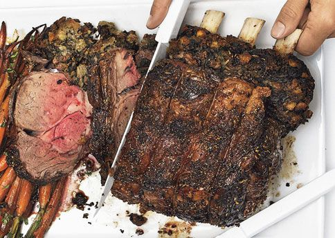 Bacon And Spinach-Stuffed Rib-Eye Roast Recipes — Dishmaps