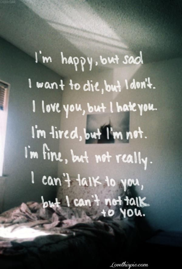 mixed emotions life quotes quotes broken hearted depressive ...
