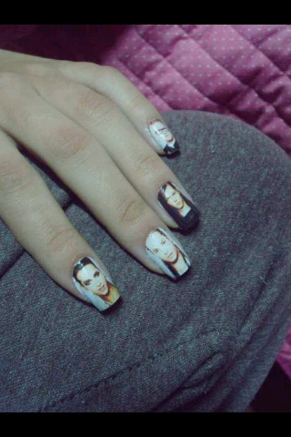 Tokio Hotel nail art. | Tokio Hotel | Pinterest