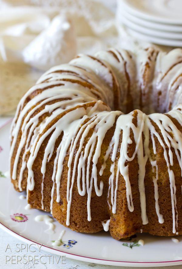 Peach Cake ~ Peaches n' Cream Cake