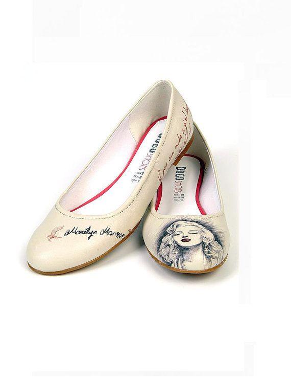 Marilyn monroe! model stylish womens shoes on Etsy, $79.75