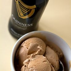 Guinness-Milk Chocolate Ice Cream | Food - Delectable Desserts! | Pin ...
