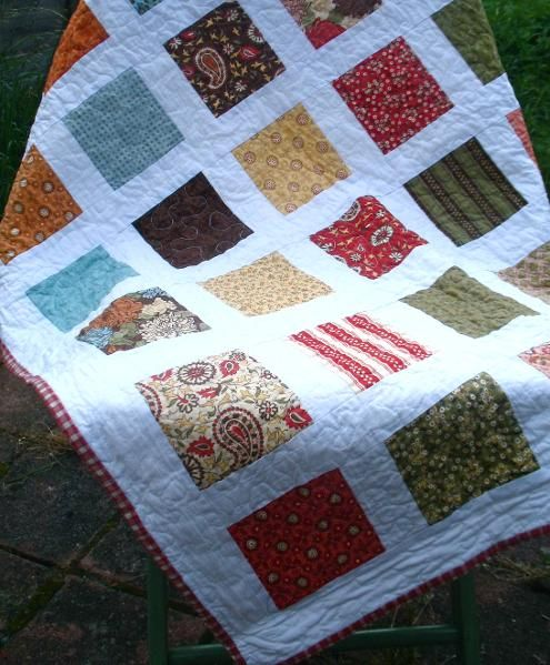 Easy Charm Pack I love Quilts! Pinterest