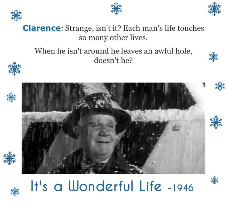 Its A Wonderful Life Clarence Quotes Quotesgram