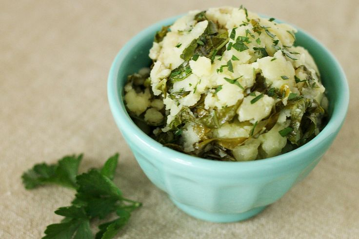 Kale Garlic Olive Oil Mashed Potatoes | Daniel Plan | Pinterest