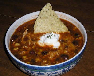 Slow Cooker Chicken Taco Soup | What a Crock | Pinterest