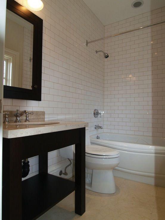 Subway Tile Idea For Master Bath Remodel Home Design Pinterest