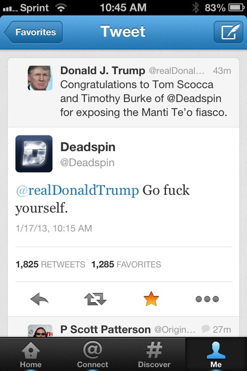 This is How You Respond to a Compliment from Donald Trump