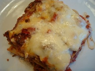 Mom's Lasagna- not my mom's we all know she can't cook.