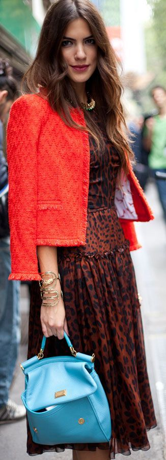Orange Tweed Jacket