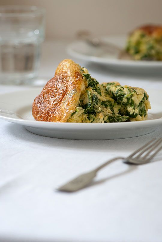 spinach souffle - I think I like this one best.