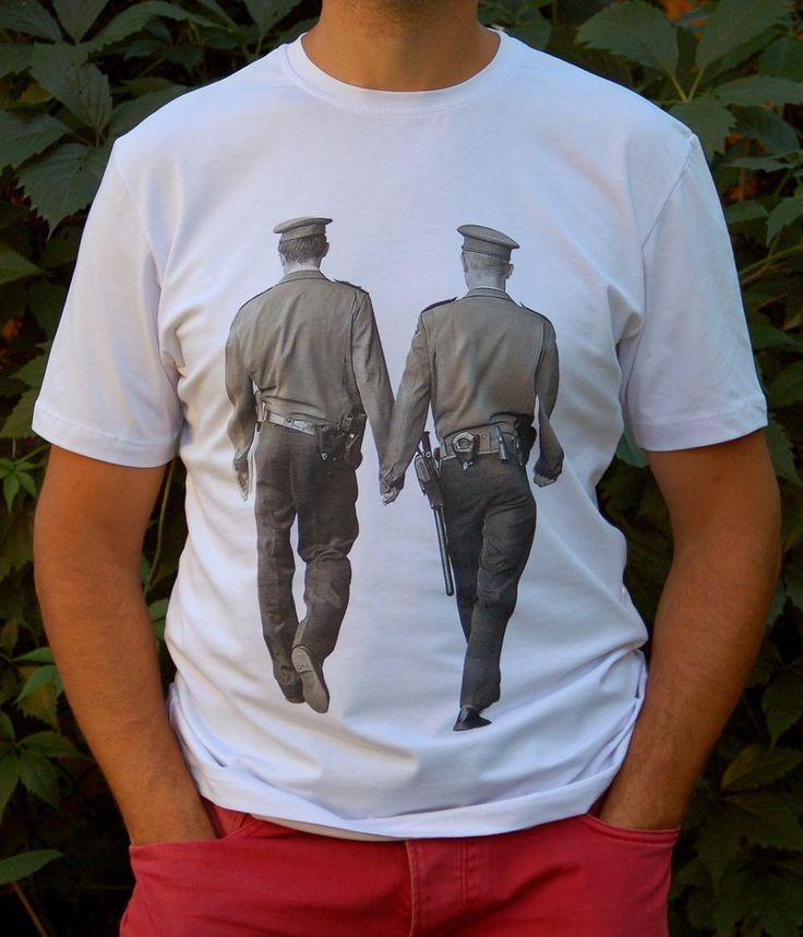 koszulka -Bad boys (proj. Mole), do kupienia w DecoBazaar.com