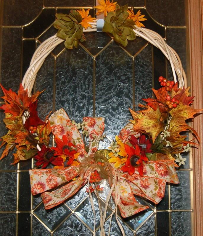 My DIY Fall Wreath!