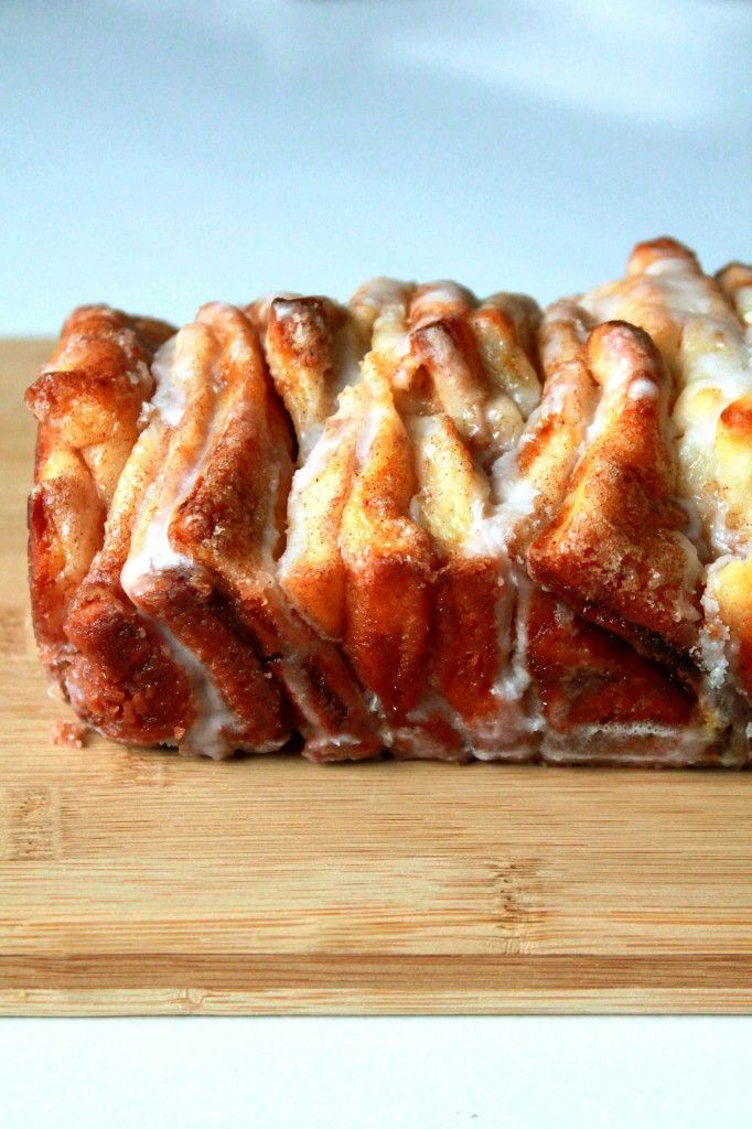 Pull-Apart Cinnamon Bread (since my last recipe was such a disaster ...
