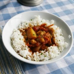 Curried Chickpea and Vegetable Stew   Veggie   Pinterest