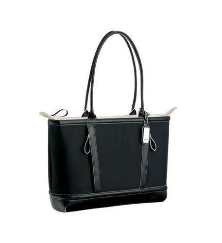 Business/Career Laptop Notebook Computer Black Tote Bag up to 15.4