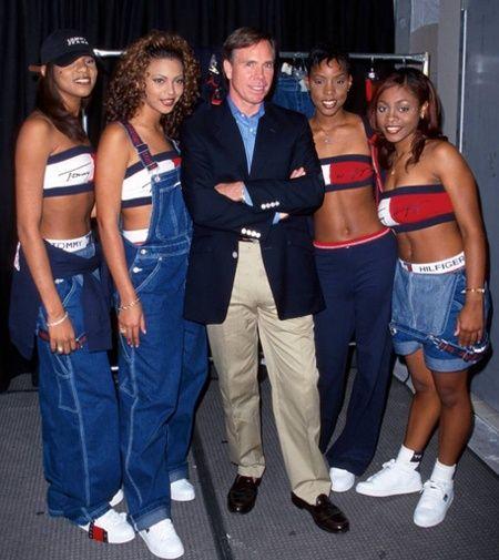90s hip hop women fashion