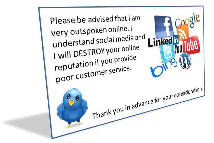 Social Media Business Card Business Cards