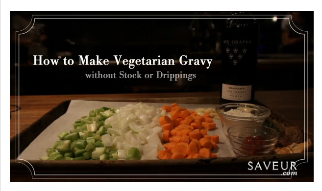 Vegetarian Gravy...A good gravy — with its rich flavor and silky ...