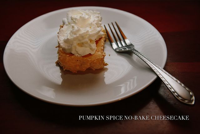 Pumpkin Spice No Bake Cheesecake | Pumpkin, O how I love you! | Pinte ...