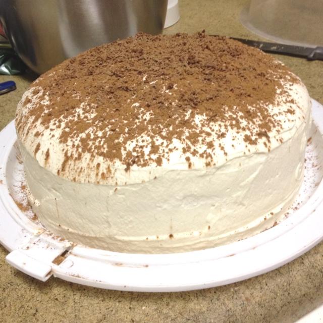 Homemade Tiramisu Layer Cake. Mmm... | Life is sweet | Pinterest