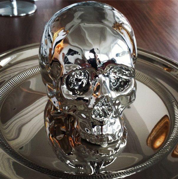 Skull decor home decorating and decor pinterest for Skull home decor