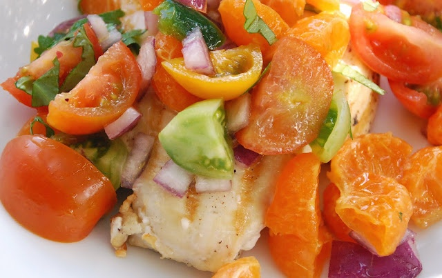 Chicken with Clementine Salsa | Things to Eat/Drink | Pinterest