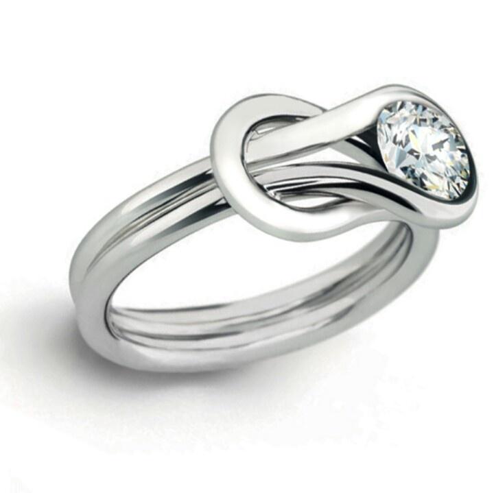 celtic love knot ring future wedding stuff pinterest