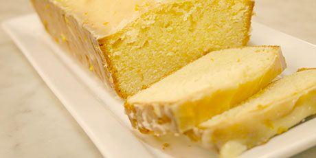 pound cake with citrus glaze   Entertaining   Pinterest