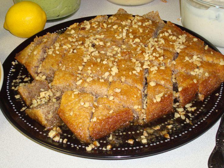 honey walnut cake | Greek food | Pinterest