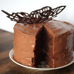 de sel pot de creme chocolate cake with fleur de sel caramel filling ...