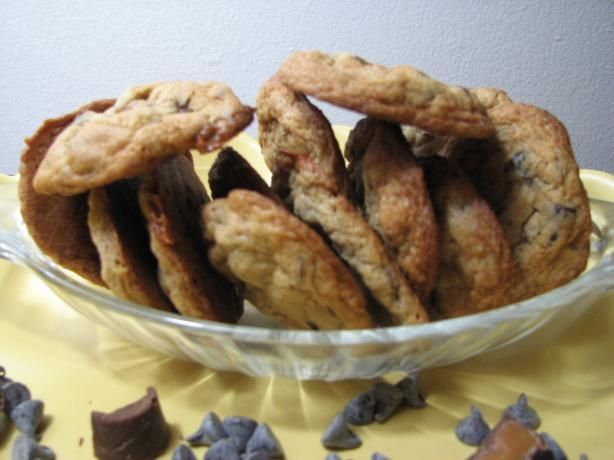 Caramel Pecan Cookies from Food.com: My sister sent me this recipe and ...