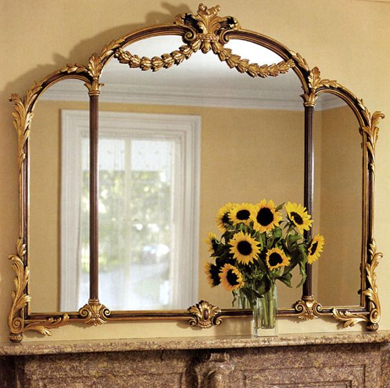 Pin by inviting home on gorgeous mirrors pinterest for Mantel mirrors