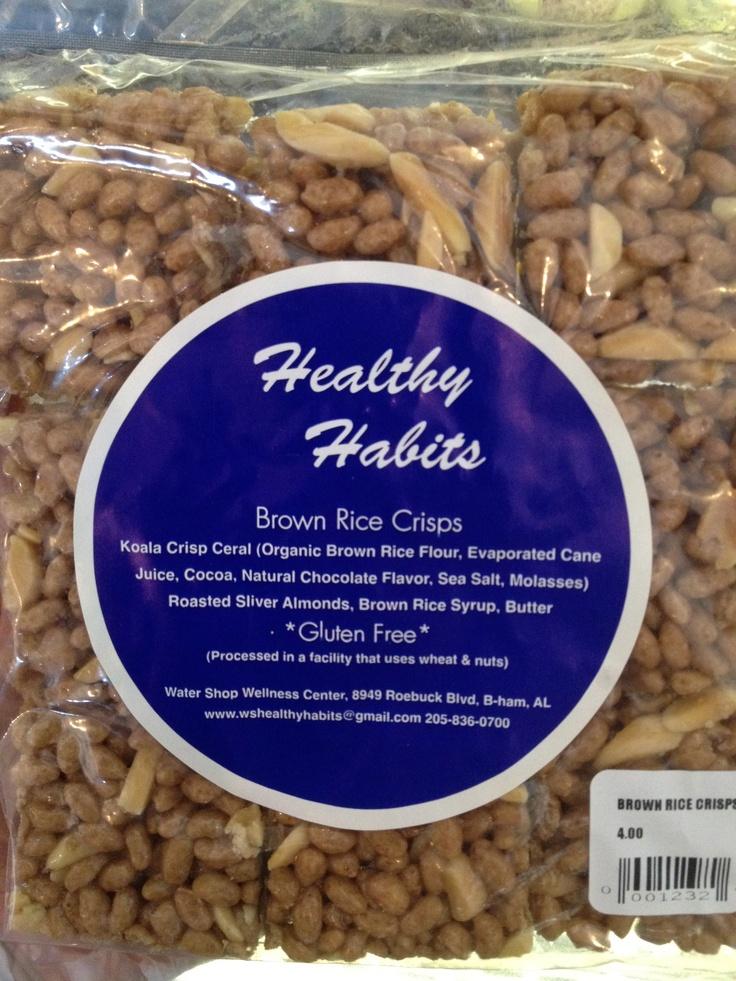 brown rice crispy treats | Inside the Market | Pinterest