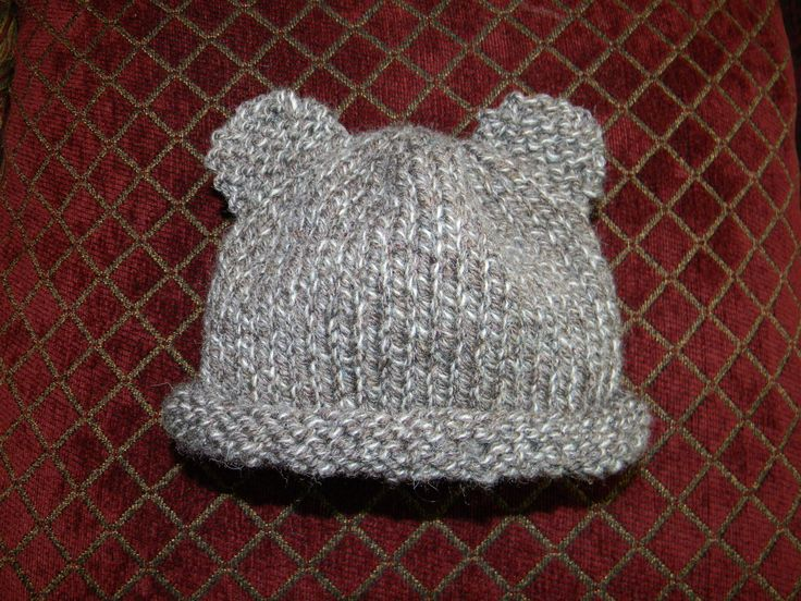 Baby Hat Knitting Pattern Ravelry : Baby Bear hat. Free pattern from ravelry Knitting and sometimes Cro?