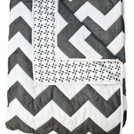 Ziggy Zaggy Quilted Doona Cover (Queen or King size)
