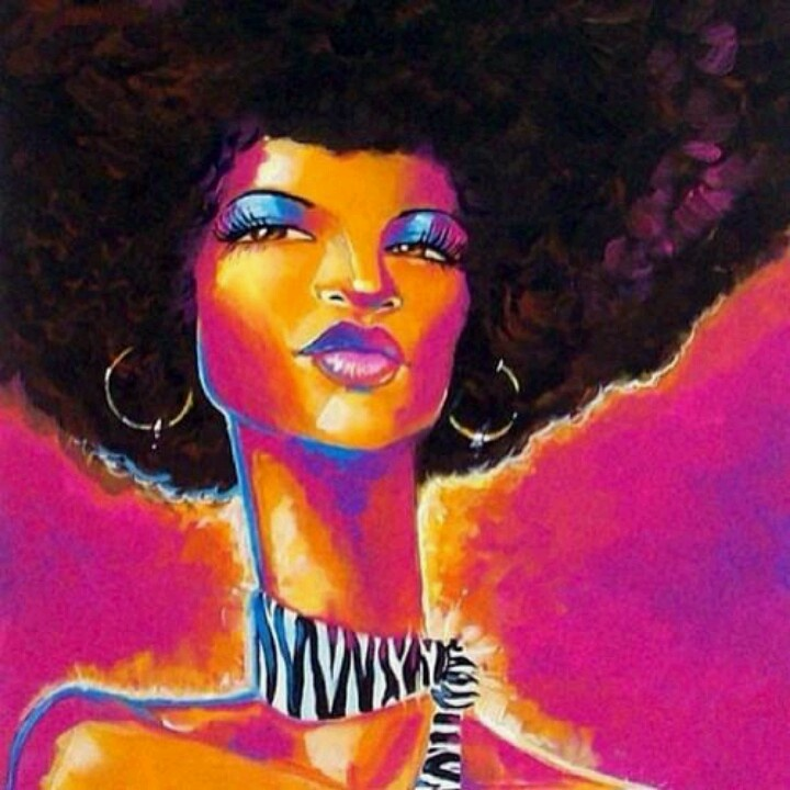 natural hair art black art pinterest