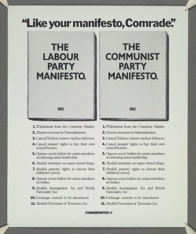 Labour political manifesto essay