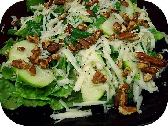 Apple and Toasted Pecan Salad With Honey Poppy Seed Dressing | Recipe